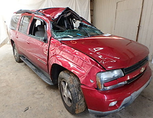Chevrolet TrailBlazer Rollover