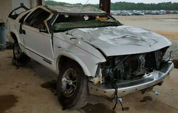 Chevrolet Blazer Rollovers