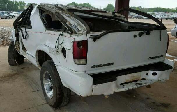 Chevrolet Blazer Roof Crush