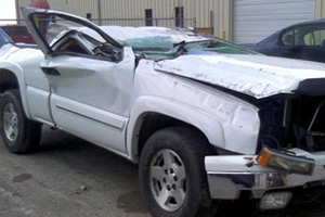 SUV Rollover Spinal Cord Injury Lawyers
