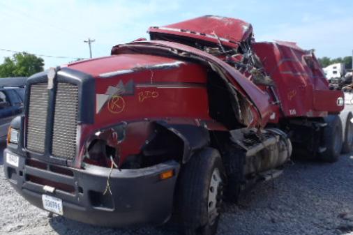Semi Truck Rollover