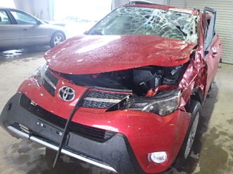 Toyota RAV4 Roof Crush