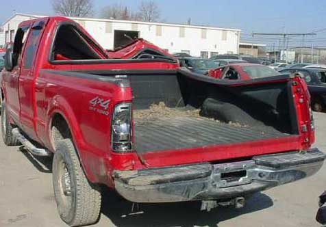 Truck Roof Failure