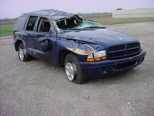 Dodge Durango Rollover and Roof Crush