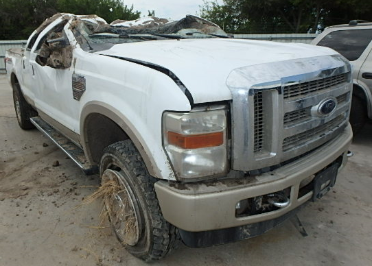ford f250 super duty 2010 massive roof failure